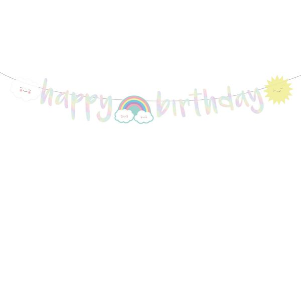51524 Happy Birthday Banner 180 cm 1