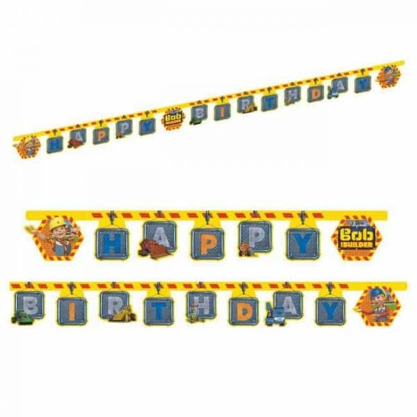 Bob the builder party banner