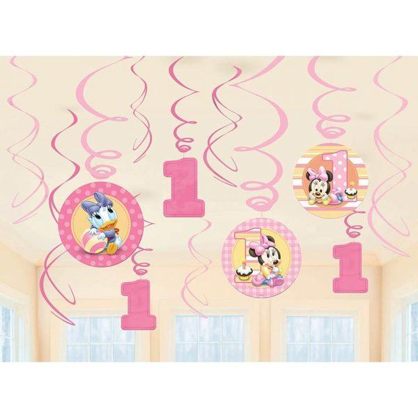 Minnies 1st Birthday Swirl Danglers Singapore 46921.1561005470