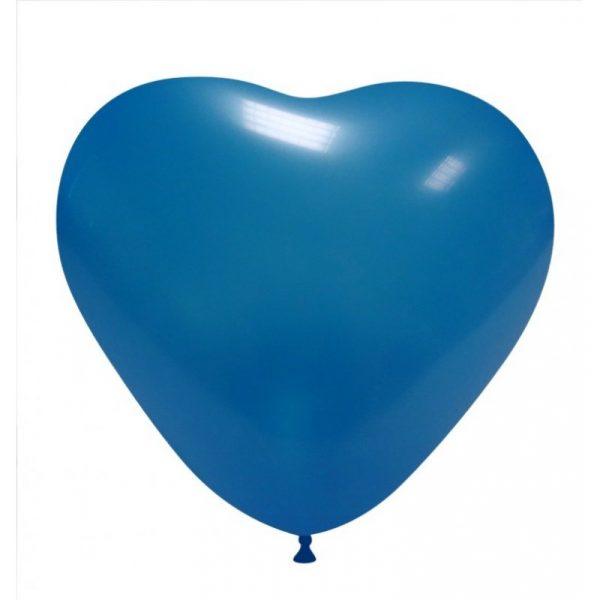 balao coracao azul