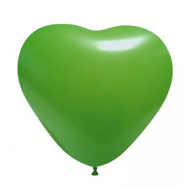 balao coracao verde