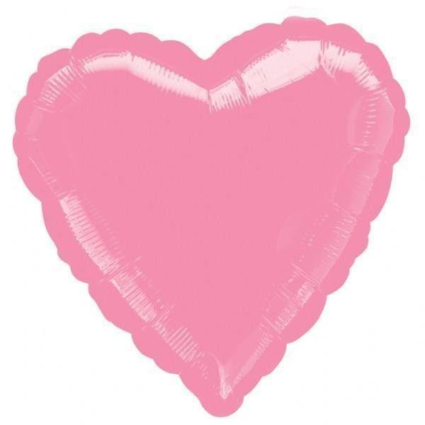 balao foil coracao rosa 2