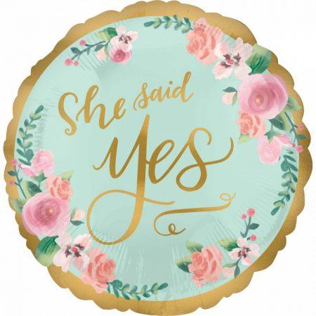 balao foil she said yes