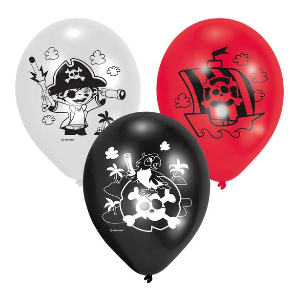 baloes latex piratas