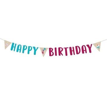 banner happy birthday 180 cm 360