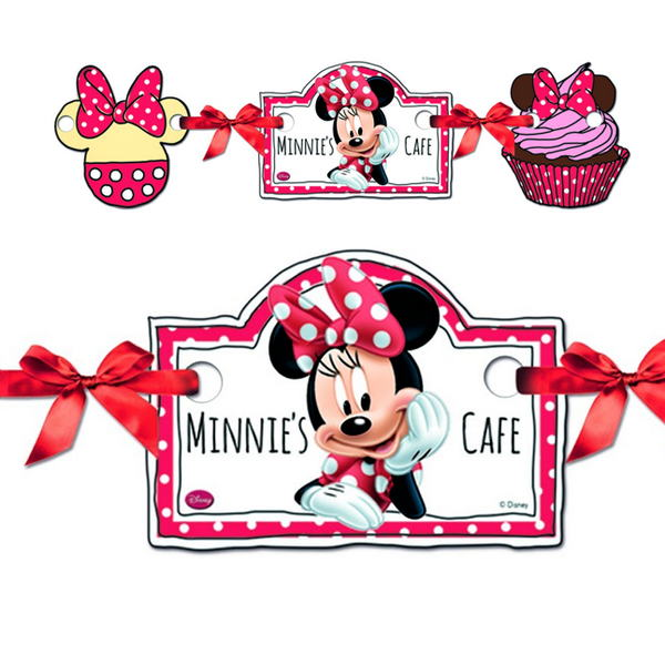 banner minnie cafe rosa