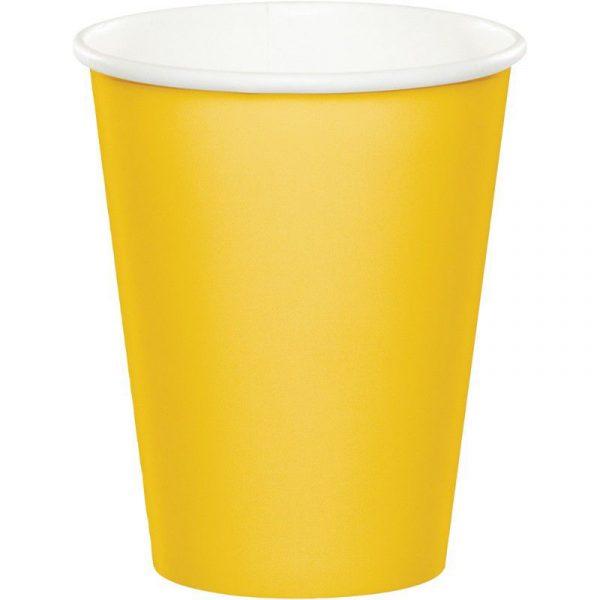 copo amarelo torrado