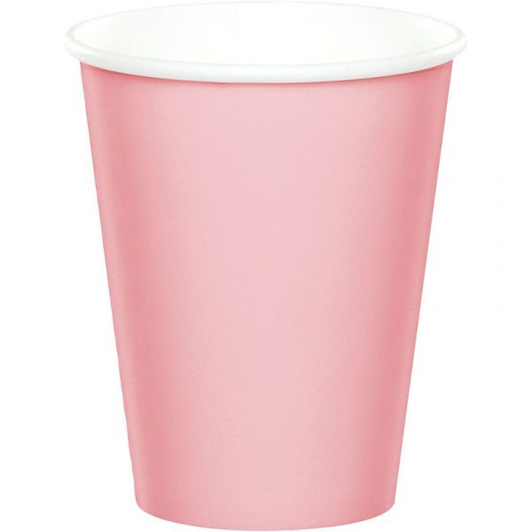 copo rosa bebe