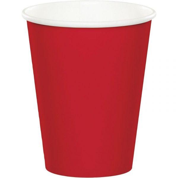 copo vermelho