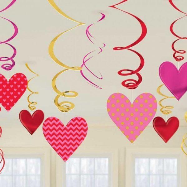 decor swirl love