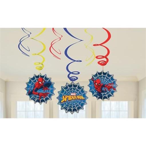 decoracao spiderman 6 un