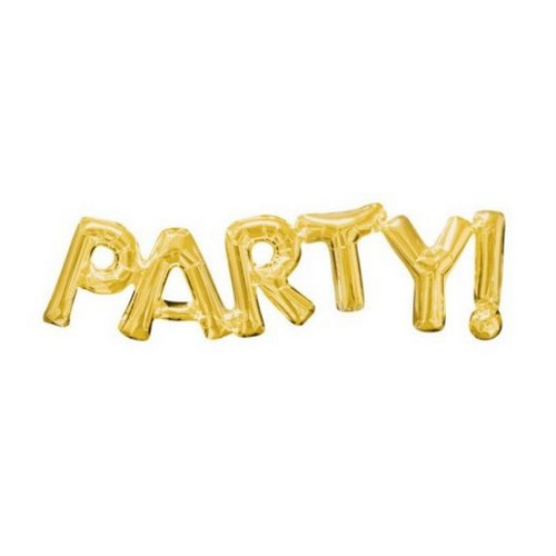 foil party happy love 3