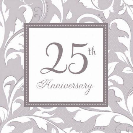 guardanapos 25o aniversario