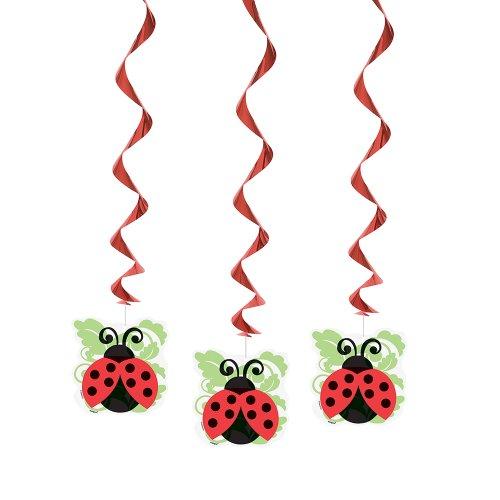 ladybug swirl decor