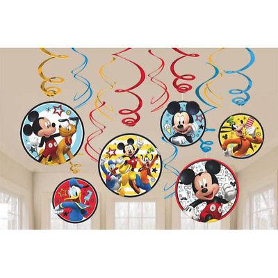 mickey swirl decor