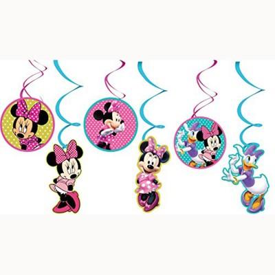 minnie mouse birthday decoration character swirl original
