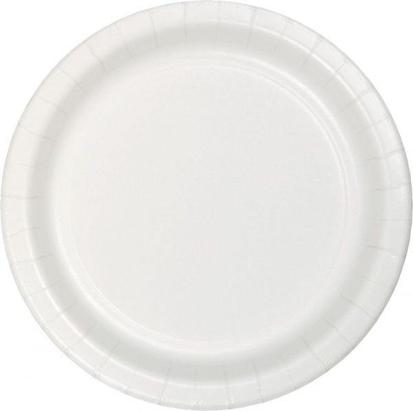 pratos branco