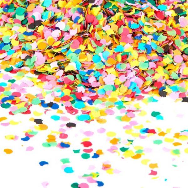 saco de confettis