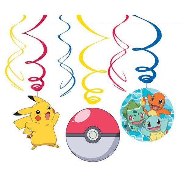 swirl decorations pokemon