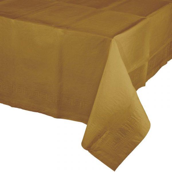toalha dourado
