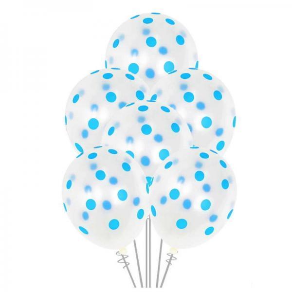 white bluedot balloons 1