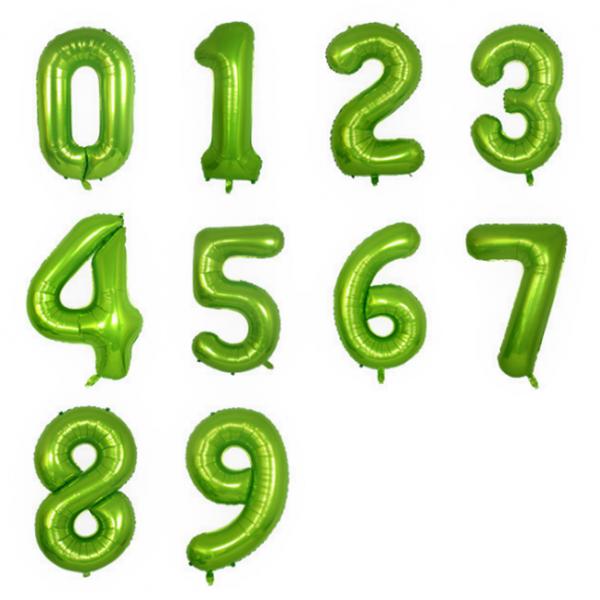 foil numero verde