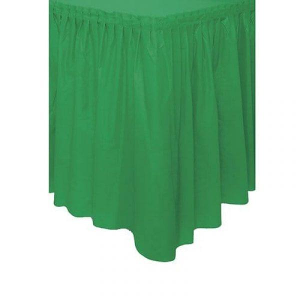 saia verde esmeralda