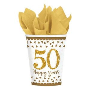 copos 50 anos ouro