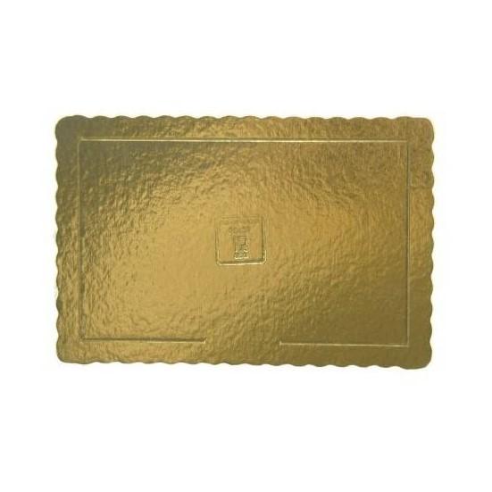 base dourada rectangular 50