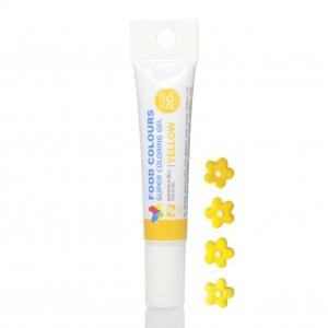 corante gel tubo 20mg amarelo