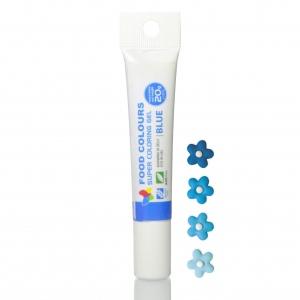 corante gel tubo 20mg azul