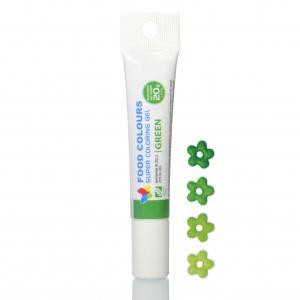 corante gel tubo 20mg verde