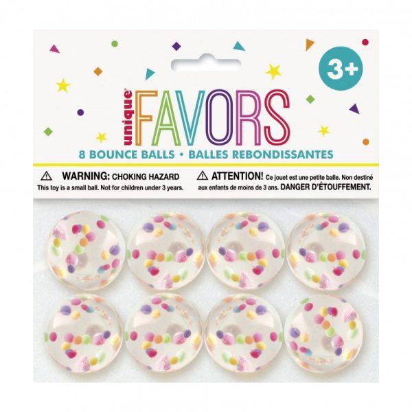 8 Bolas Saltitonas Confetti