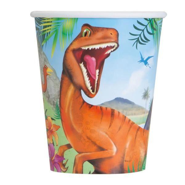 copos de dinossauro