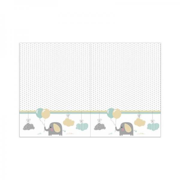 mantel plastico 120x180 cm elephant baby unidades por paquete 1