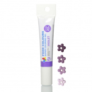 corante gel tubo 20mg violeta