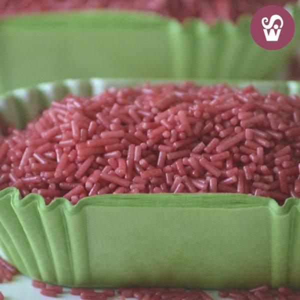 granulado vermelho