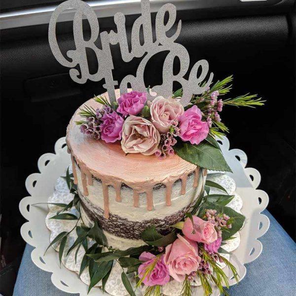 Glitter noiva para ser bolo topper despedida de solteira festa de casamento