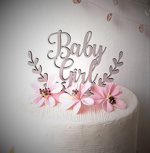 cake topp baby girl