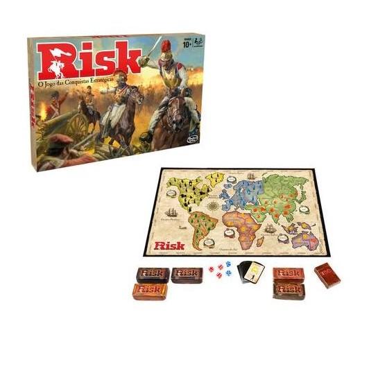 hasbro jogo tabuleiro risk