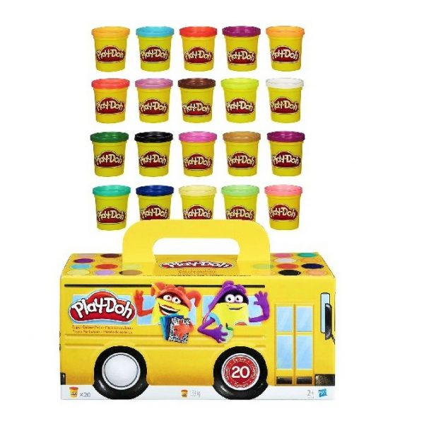 play doh super color pack20