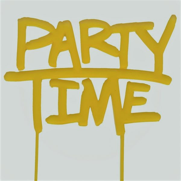 yellowparty topper
