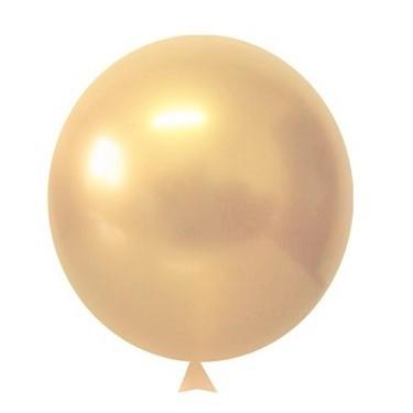 balao dourado cromado shinny