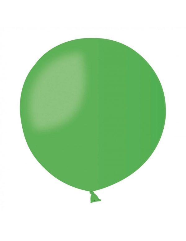baloes verde medio 40cm