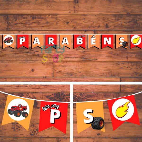 bandeirola artesanal bannp003