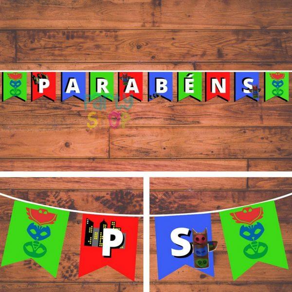 bandeirola artesanal bannp026
