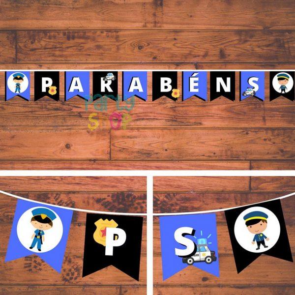 bandeirola artesanal bannp056