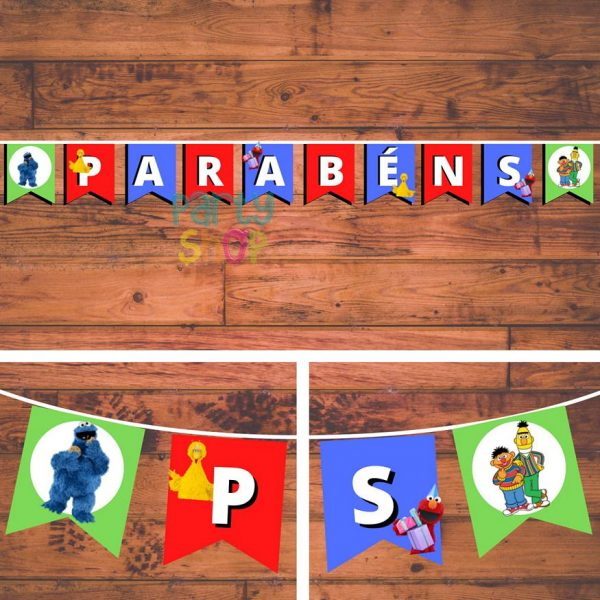 bandeirola artesanal bannp061