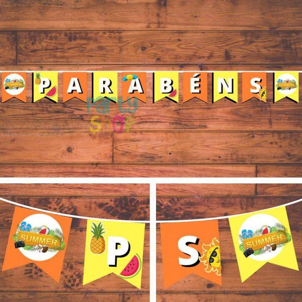 bandeirola artesanal bannp075