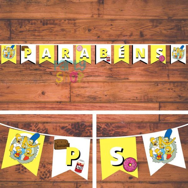 bandeirola artesanal bannp108